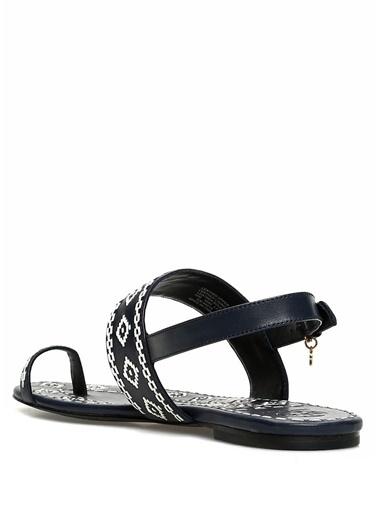 Tory Burch Sandalet Lacivert